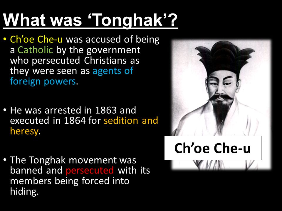 What was 'Tonghak'.