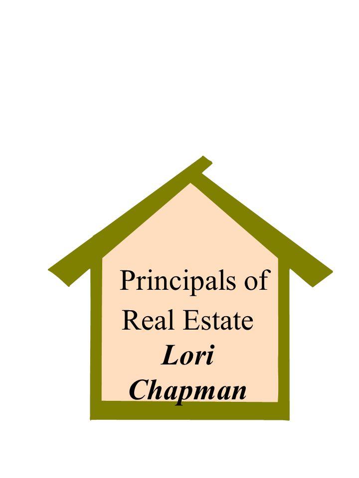 Real Estate Lori Chapman Principals of