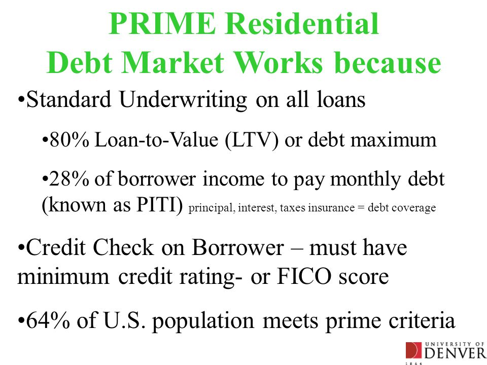 Commercial Mortgage Market – 2007 Sources: 2Q 2007 Federal Reserve Flow of Funds Release (9/17/2007); 2Q 2007 American Council of Life Insurance ACLI Mortgage Loan Portfolio Profile (8/9/2007) ($ Billions) Commercial Loan Originations continued even when Default rates were 7% Government Service Entities = GSE