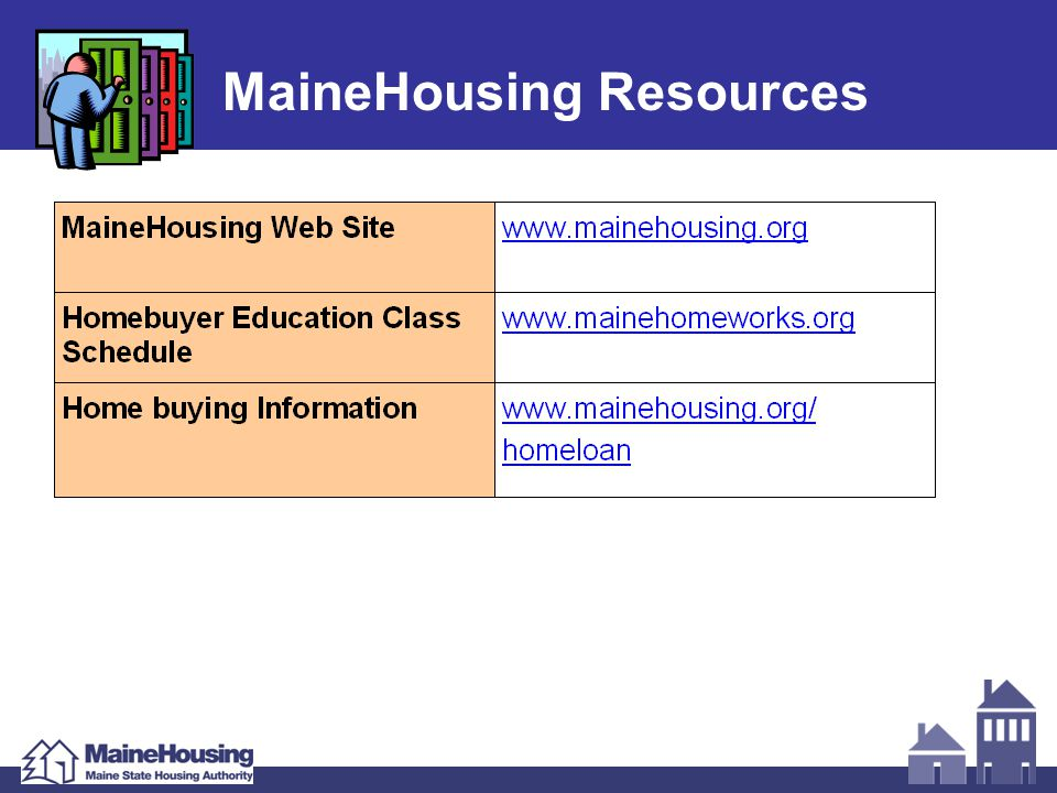 MaineHousing Resources