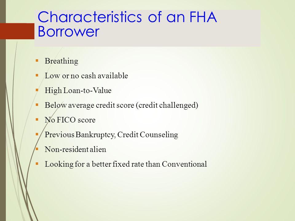 Originating & Processing FHA Loans
