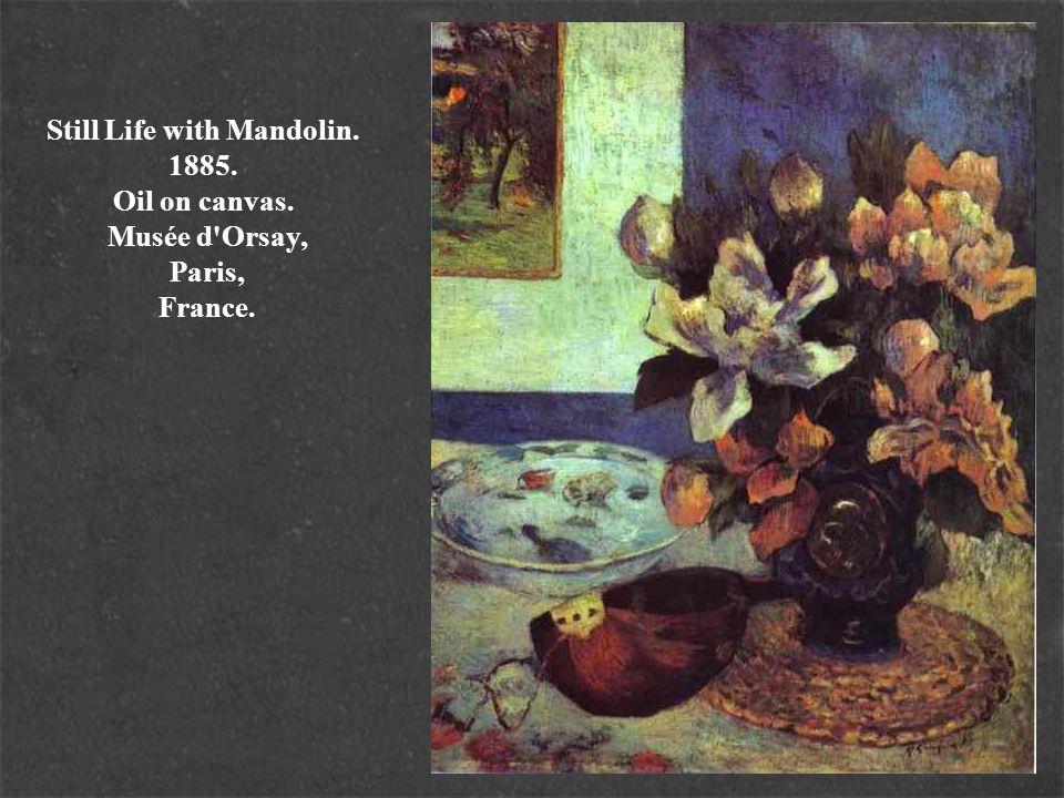 Still Life with Mandolin. 1885. Oil on canvas. Musée d'Orsay, Paris, France.