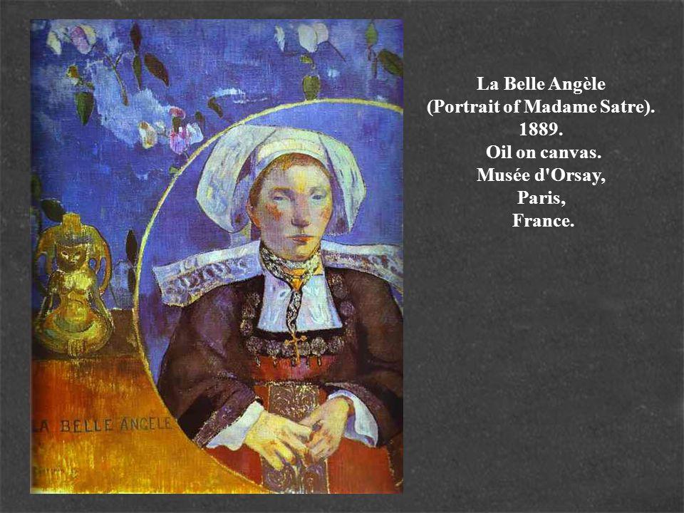 La Belle Angèle (Portrait of Madame Satre). 1889. Oil on canvas. Musée d'Orsay, Paris, France.