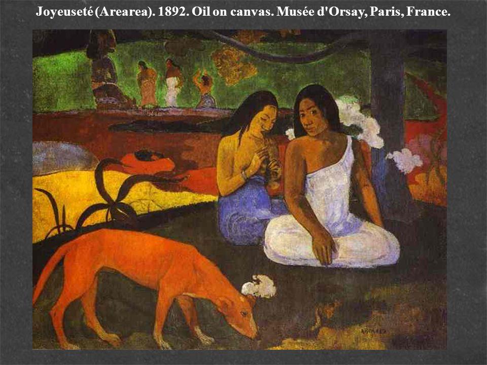 Joyeuseté (Arearea). 1892. Oil on canvas. Musée d'Orsay, Paris, France.