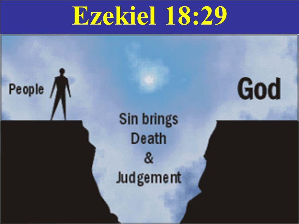 Ezekiel 18:29
