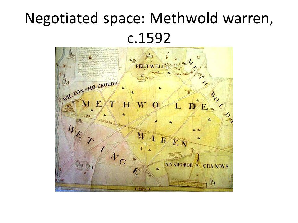 Negotiated space: Methwold warren, c.1592