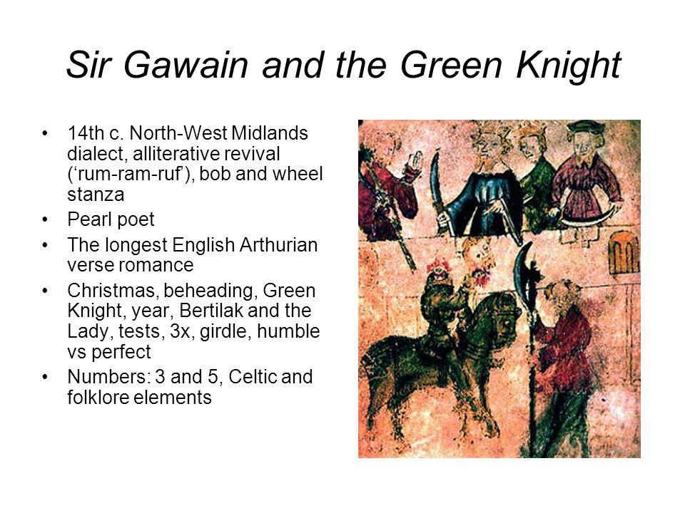 Sir Gawain and the Green Knight 14th c.