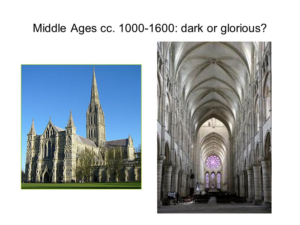 England: 1066 - end of 15th c., Middle English Period Norman Conquest: influence of French and continental culture French, Latin, English (Middle English: dialects!) Crusades: ideals of knighthood, courtly love (fin' amors) Christianity: expansion and glory (Gothic cathedrals) vs the Great Schism (1387-1417) and heresies (Lollards, John Wycliff: Bible!) Secular poetry and themes (Sumer is icumen in) universities: Oxford and Cambridge (13th c.) Wars: the Hundred Years' War (1337-1453), 14th c.: peasant revolts (Wat Tyler, John Ball), 15th c.