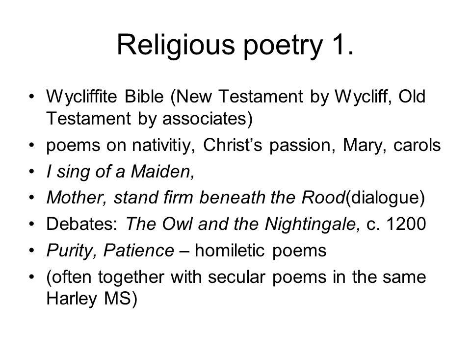 Religious poetry 2.