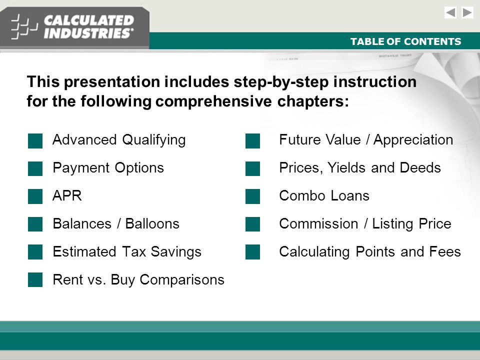 Comprehensive Module - Real Estate and Mortgage Slide 32 COMBO LOANS Example: The buyer may qualify for an 80:10:10, or 'combo' loan, to avoid mortgage insurance due to a low down payment.