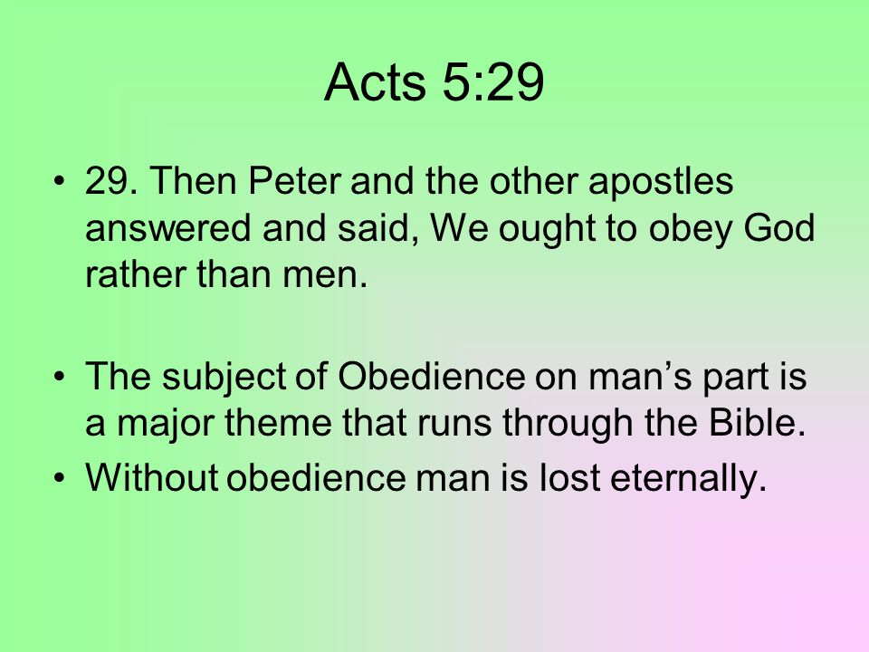 Hebrews 5:8-9 8.Though he were a Son, yet learned He obedience by the things which He suffered; 9.