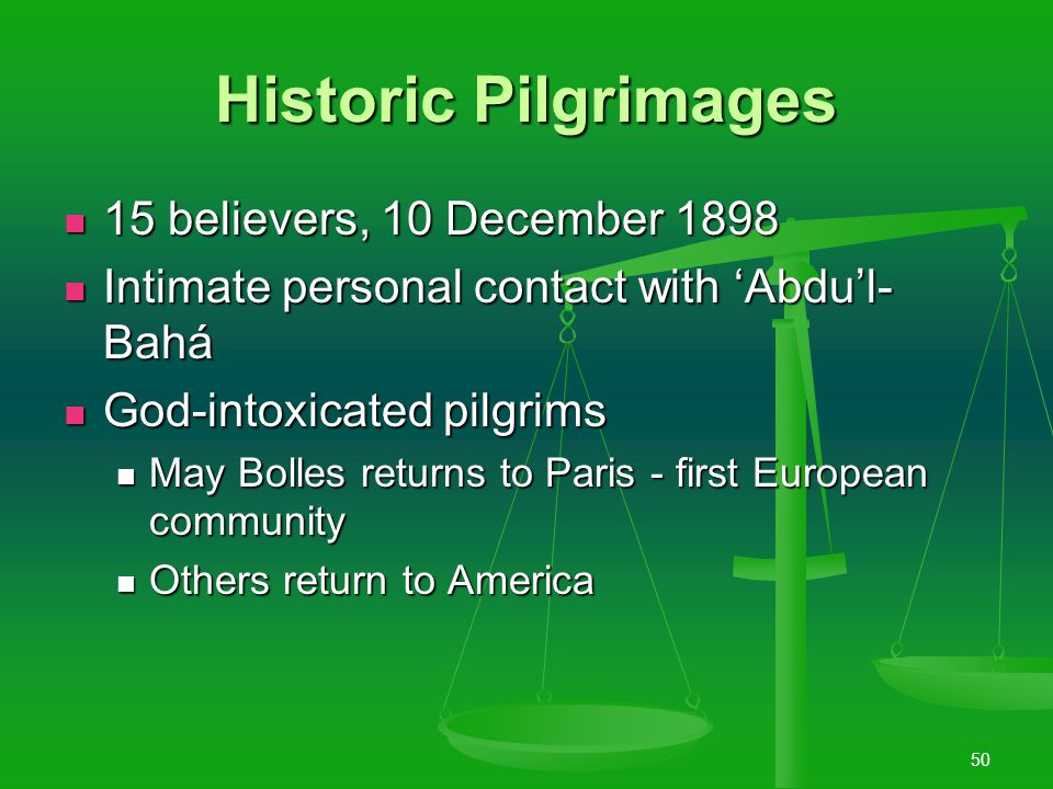 """49 1893-1903 Epoch-making visit of first American pilgrims """"fired the souls of its members with a love and zeal which no amount of adversity could que"""
