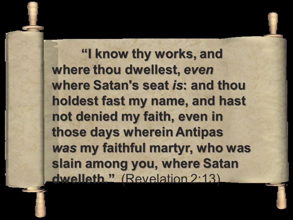 I know where you dwell! Pergamum – Satan's seat