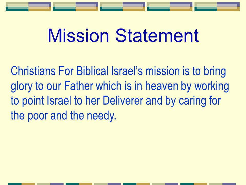 CFBI's Dependency & Fulfillment CFBI is trusting God to help us supply the needs of the poor and needy.