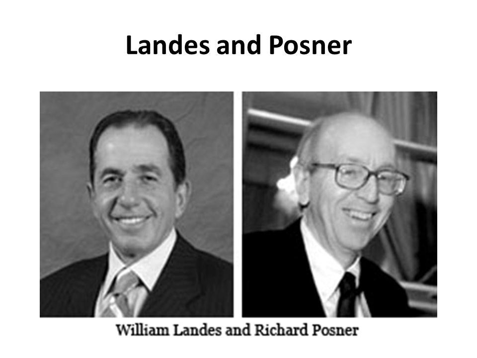 Landes and Posner