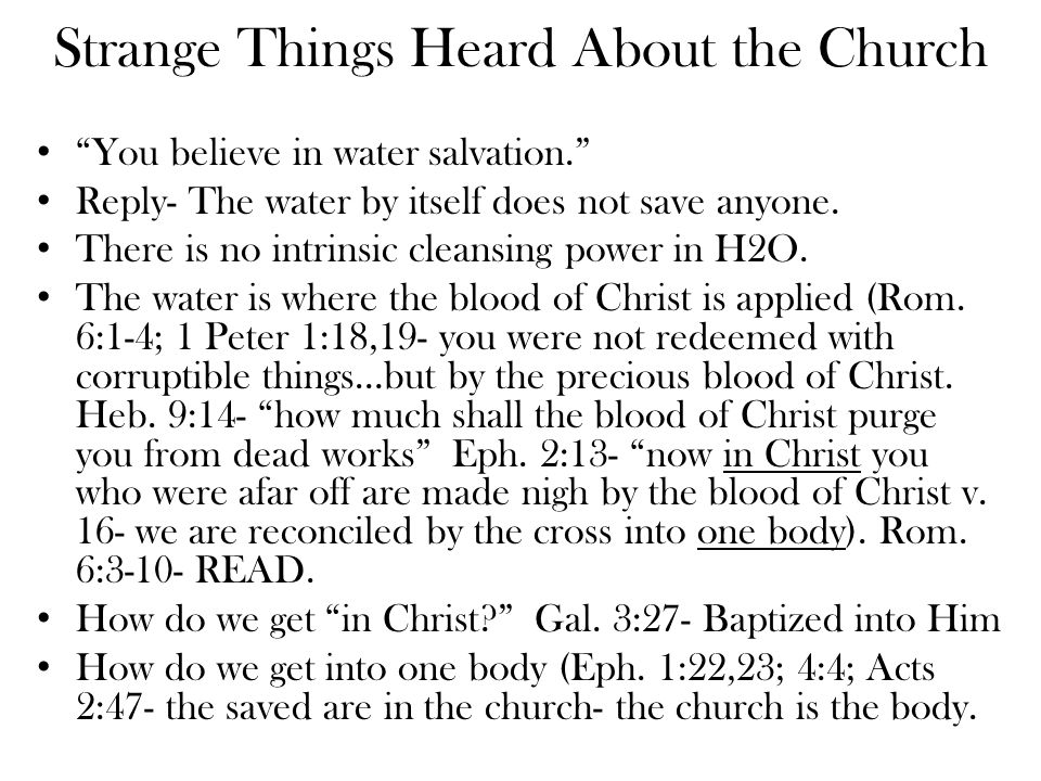Strange Comments About the Church You don't believe in music We believe in what the Bible authorizes in worship (vocal music)- Eph.
