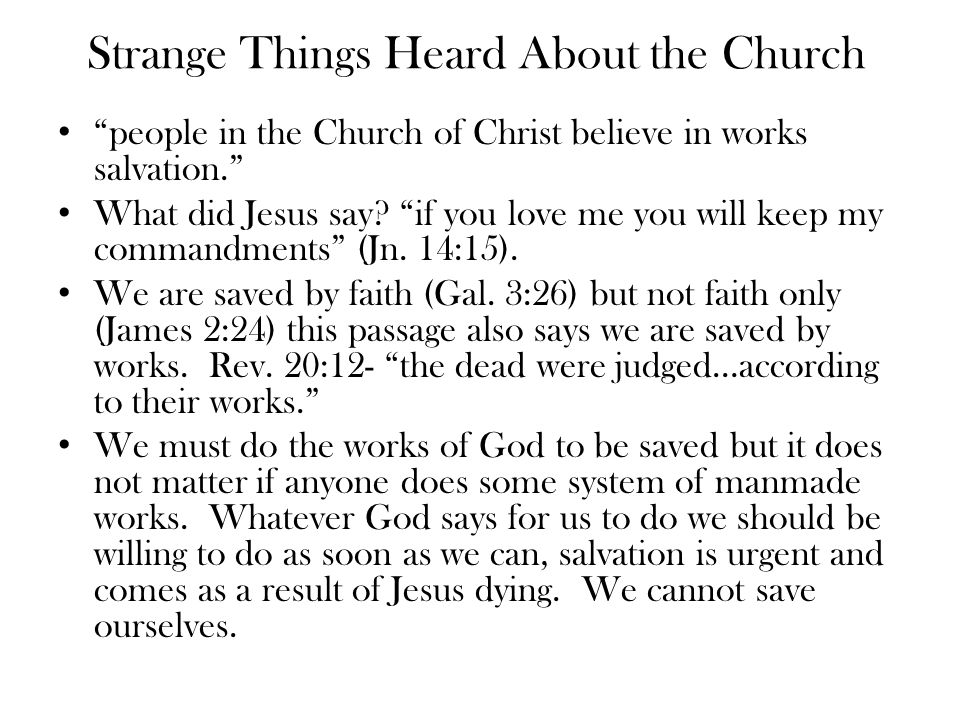 Valid Charges There are some in the Lord's church who have digressed into cult like organizations (House church, Boston church movement –prayer partners to confess sins to, etc.
