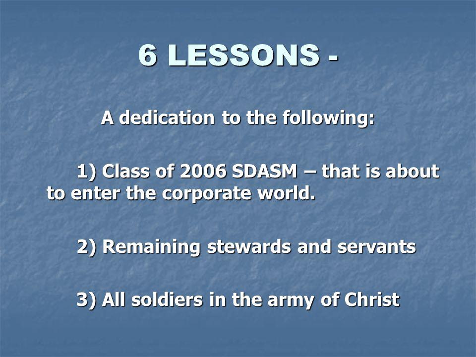 LESSON 4 JOHN 3 VS.16 JOHN 3 VS.