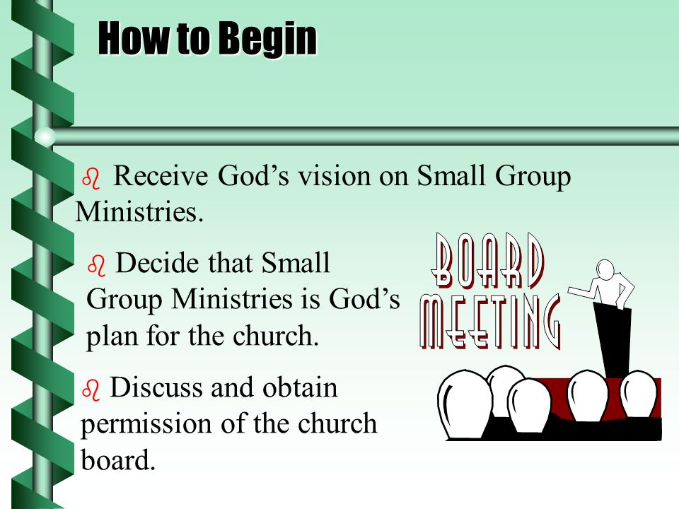 There will be clear accountability among members and leader.  Pastor meets with group leaders once a week.  Prayers move the life of the church. 