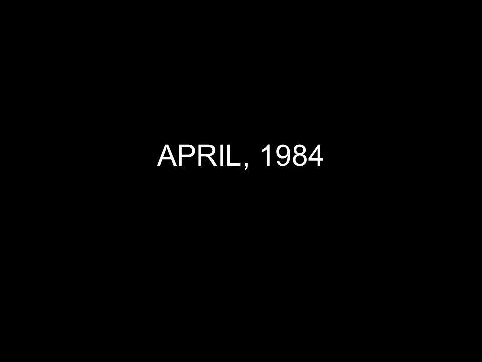 APRIL, 1984