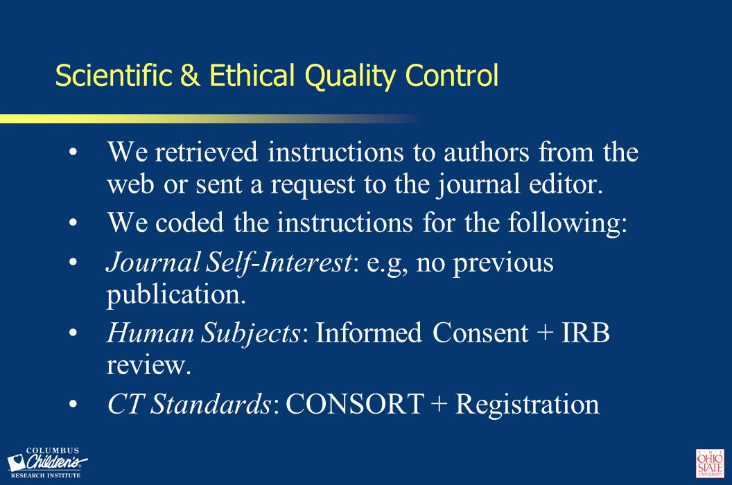 Components of Authorship Ethics (AE) Score Disclosures: Source of funding, COIs.