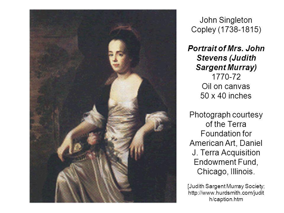 John Singleton Copley (1738-1815) Portrait of Mrs.