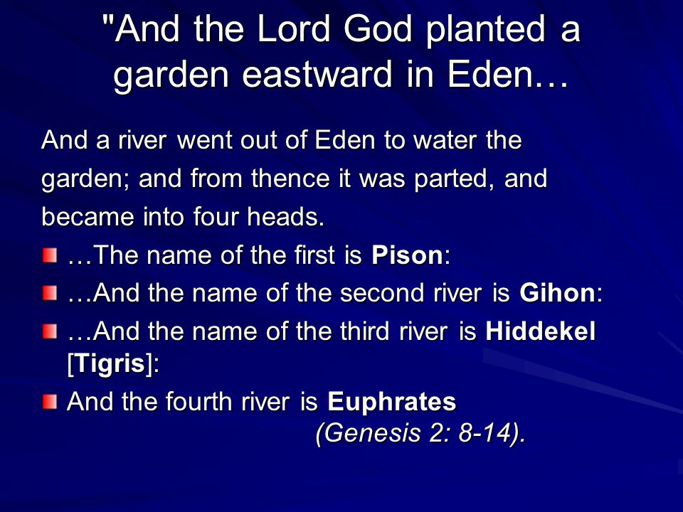 15 And the LORD God took the man, and put him into the garden of Eden to dress it and to keep it.