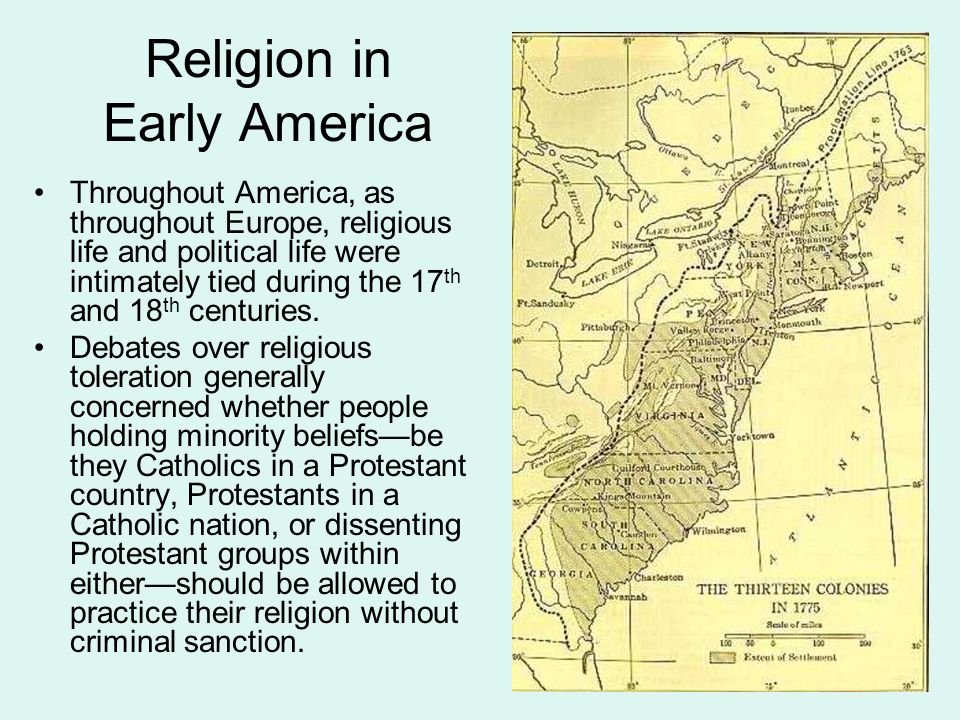 Virginia: A Case Study in Persecution and Toleration In Virginia, religious persecution, directed at Baptists and, to a lesser degree, at Presbyterians, took place both before and after the Declaration of Independence.
