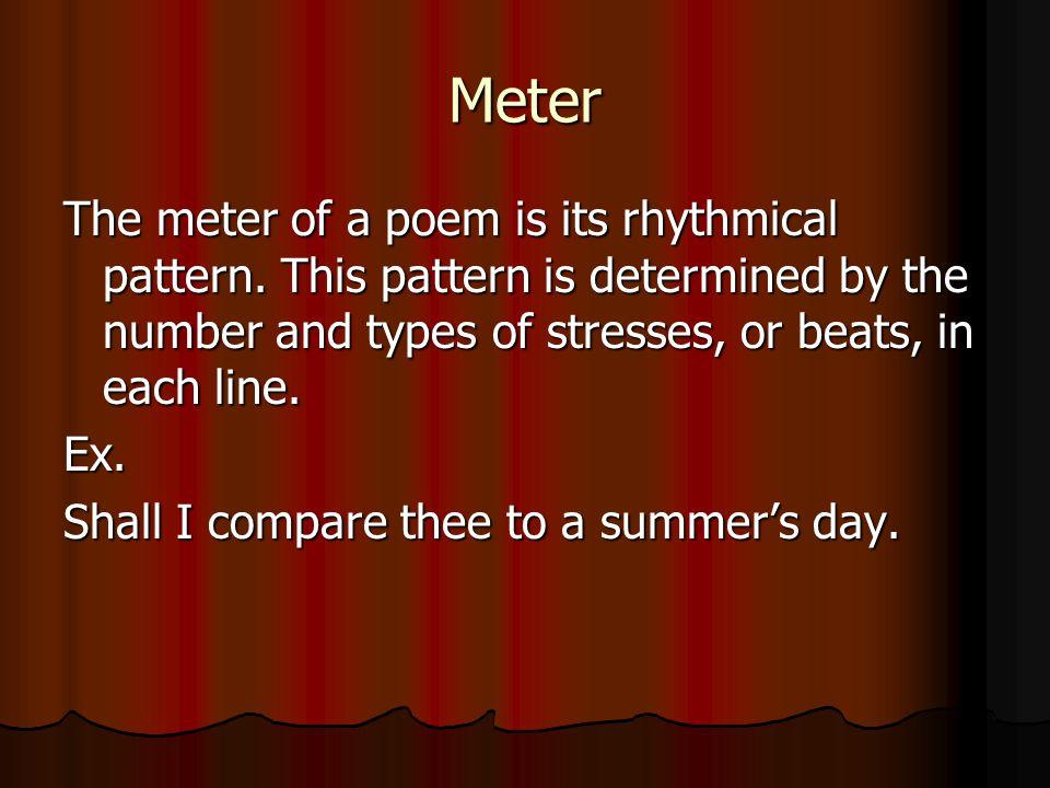 Blank Verse Blank Verse: Poetry written in unrhymed iambic pentameter lines.