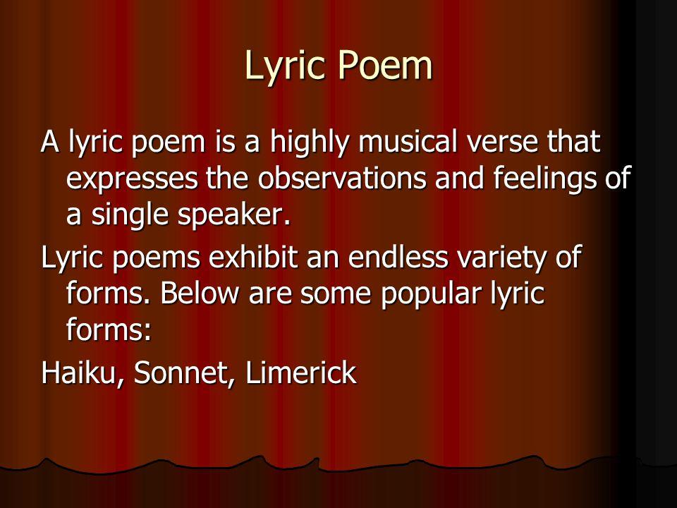 Free Verse Free Verse: Poetry not written in a regular rhythmical pattern, or meter.
