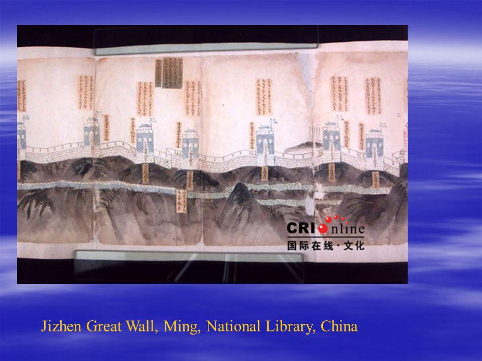 Jizhen Great Wall, Ming, National Library, China