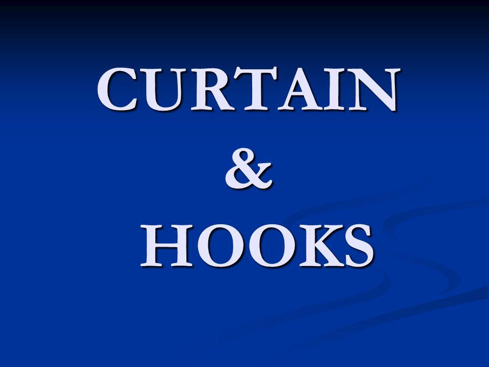 CURTAIN & HOOKS