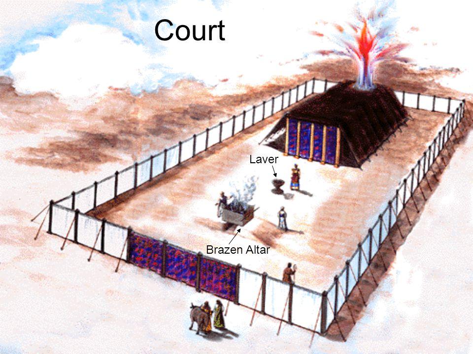 Court Brazen Altar Laver