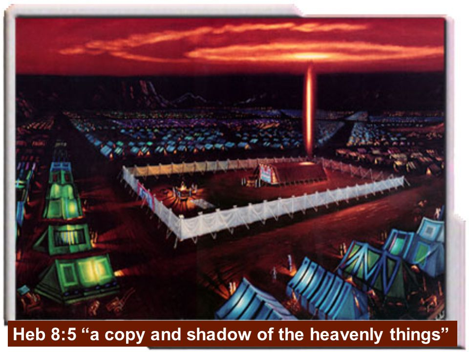 Heb 8:5 a copy and shadow of the heavenly things