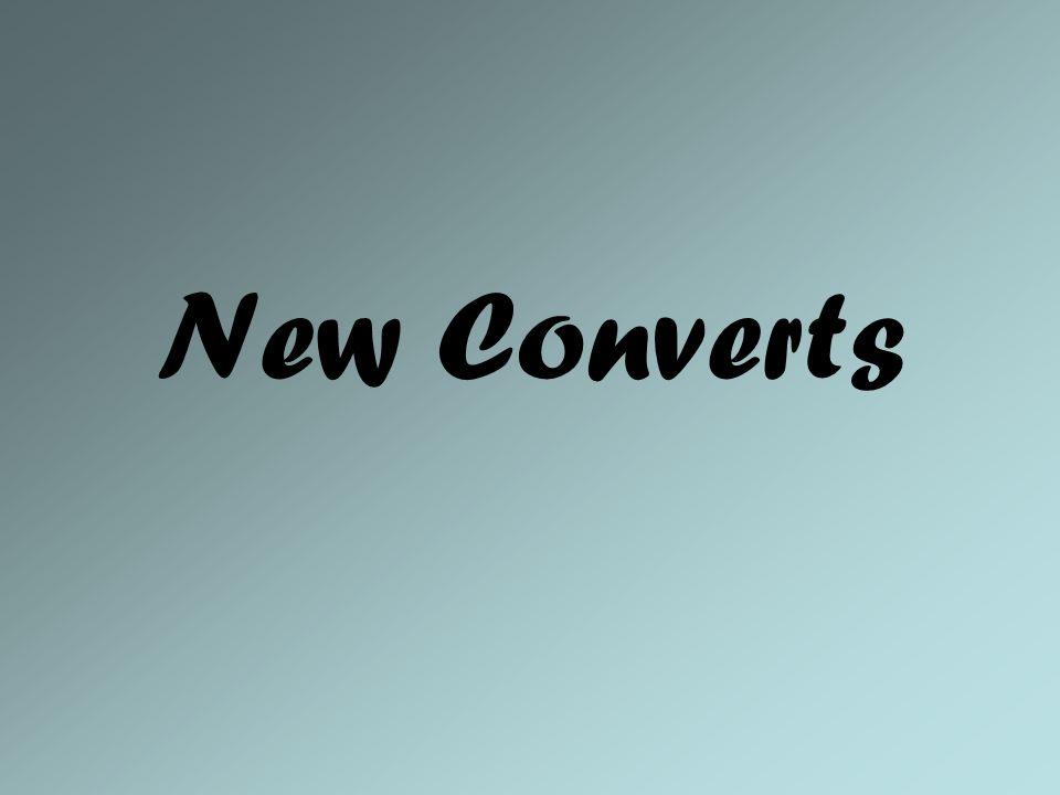 New Converts
