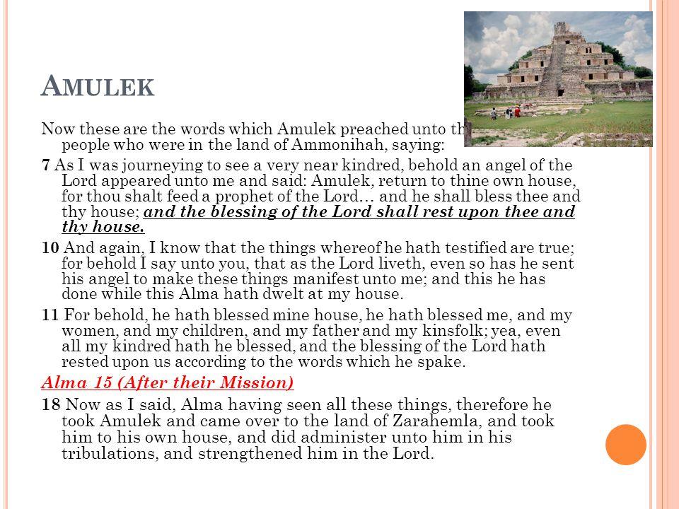 W HY ? Alma 14:9-14