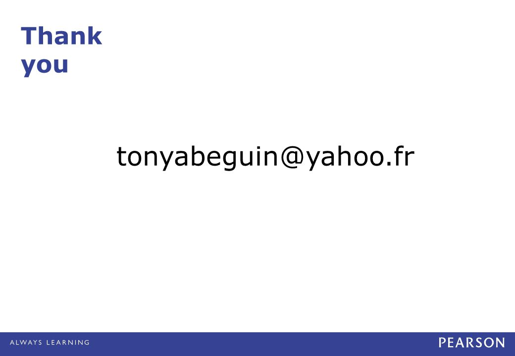 Thank you tonyabeguin@yahoo.fr
