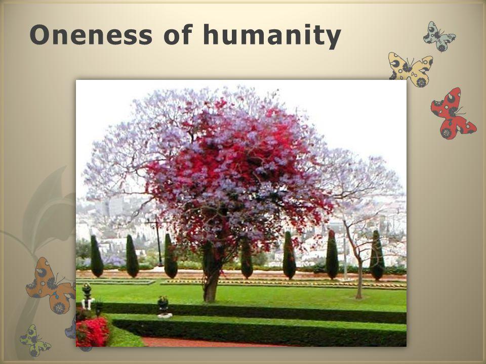 Oneness of humanity