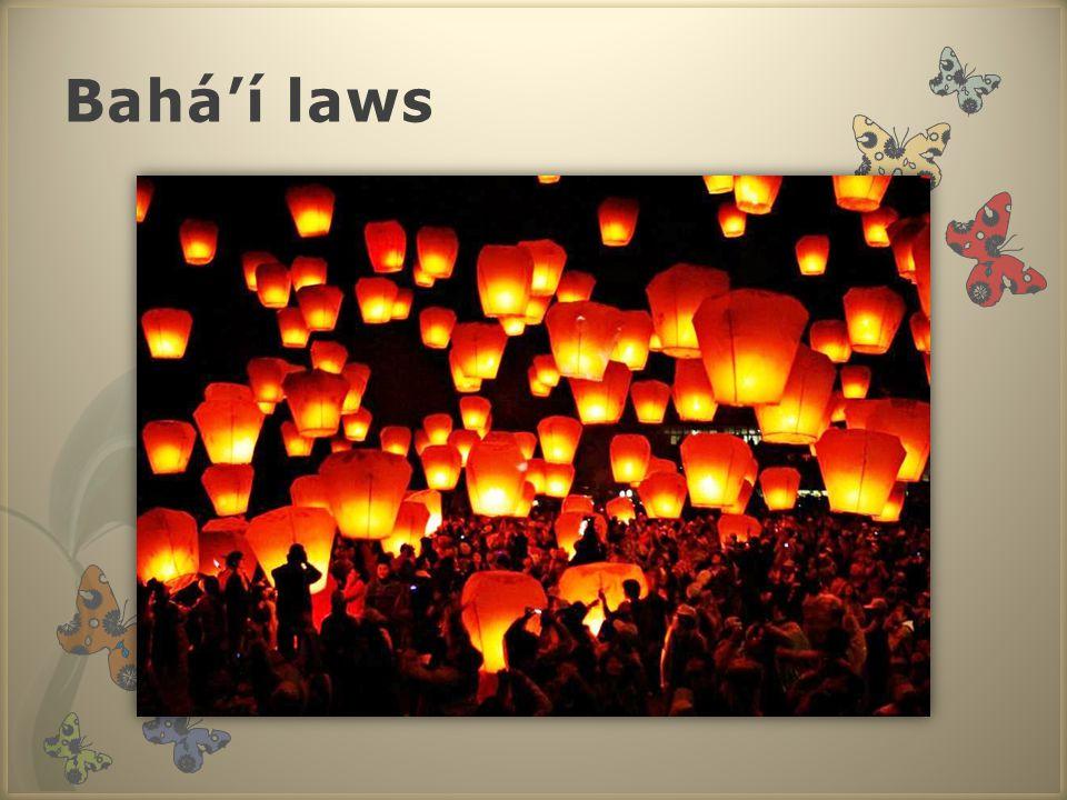 Bahá'í laws