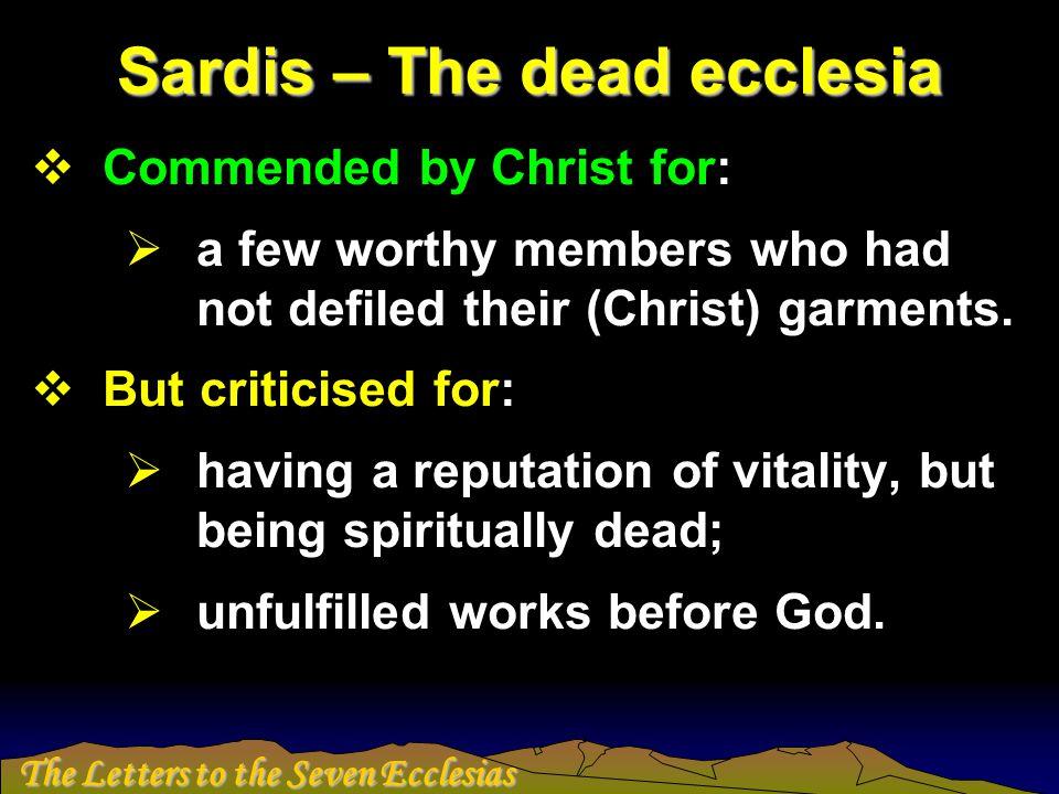 The Letters to the Seven Ecclesias Philadelphia
