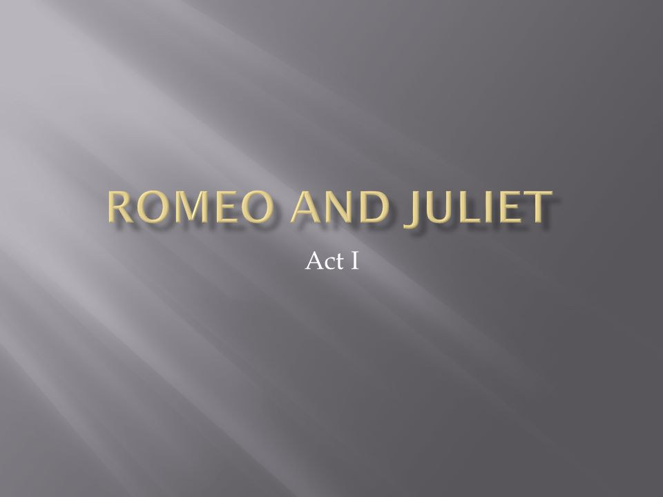  He has learned that Juliet is a Capulet.