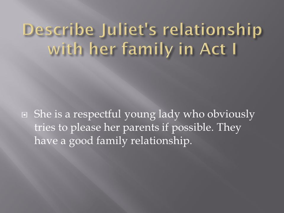  She is a respectful young lady who obviously tries to please her parents if possible.