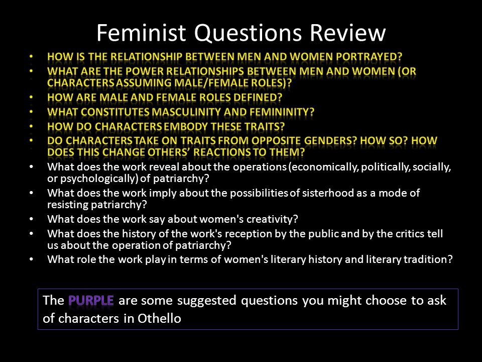Feminist Questions Review