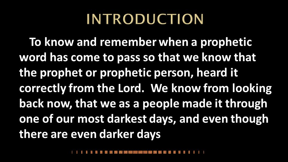 The spirit of the Lord then said: Many people will die in the process of it.