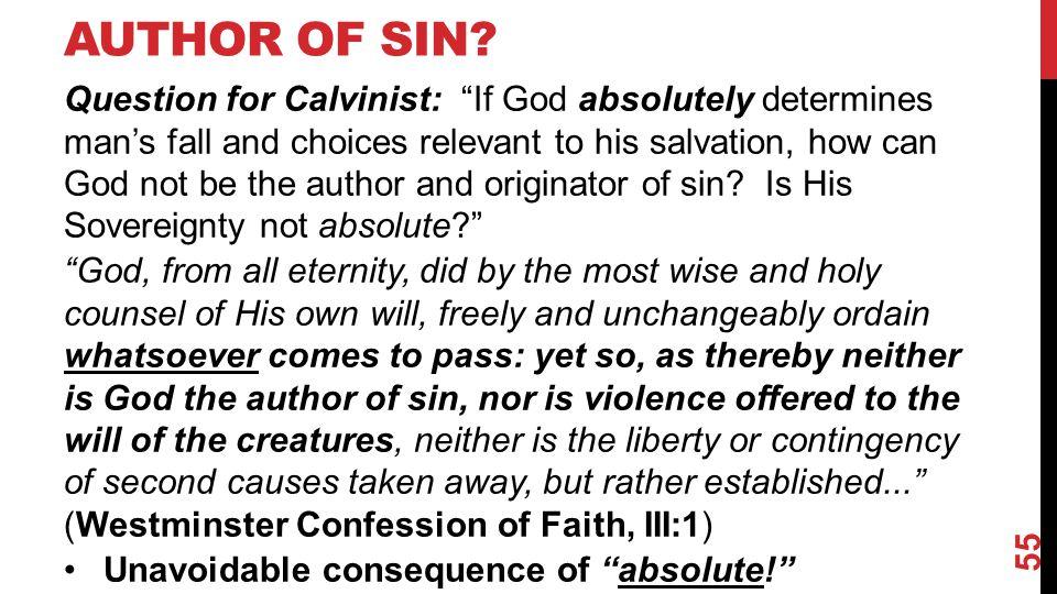 AUTHOR OF SIN.