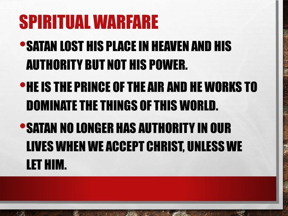 SPIRITUAL WARFARE SEEK GOD FIRST II SAM.5: 17-25 ASK GOD FIRST BEFORE YOU MOVE.
