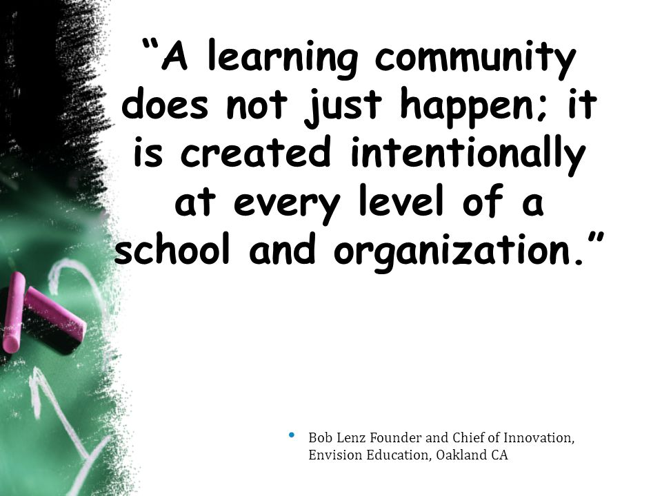 Mathematical Community of Learners know...1.Ideas are important no matter whose ideas they are.
