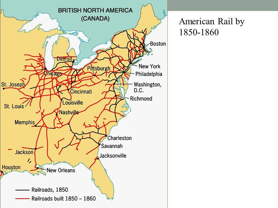 American Rail by 1850-1860