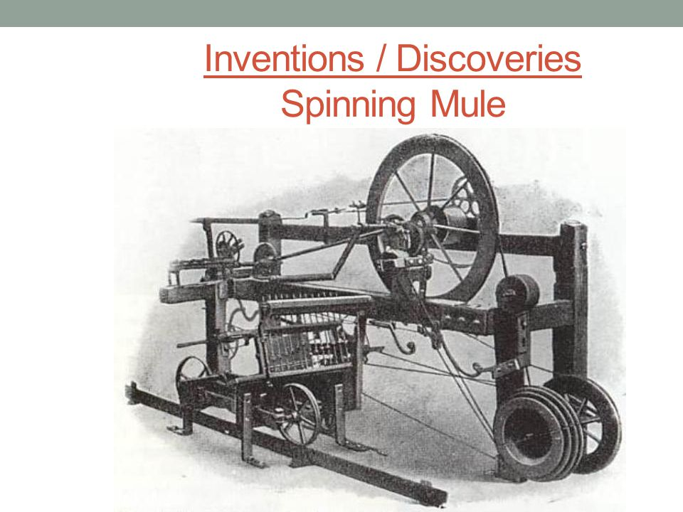 Inventions / Discoveries Power Loom