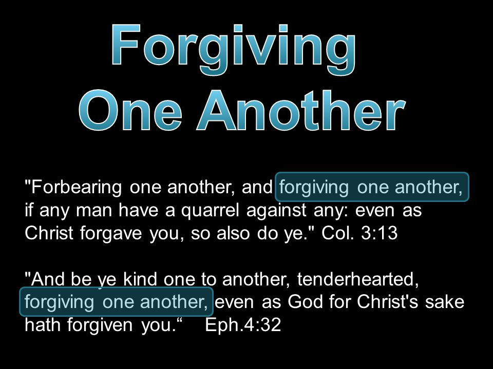  Ignoring those who wrong us  Refusing to hit back  Overlooking the sin  Putting on probation What is Forgiveness .